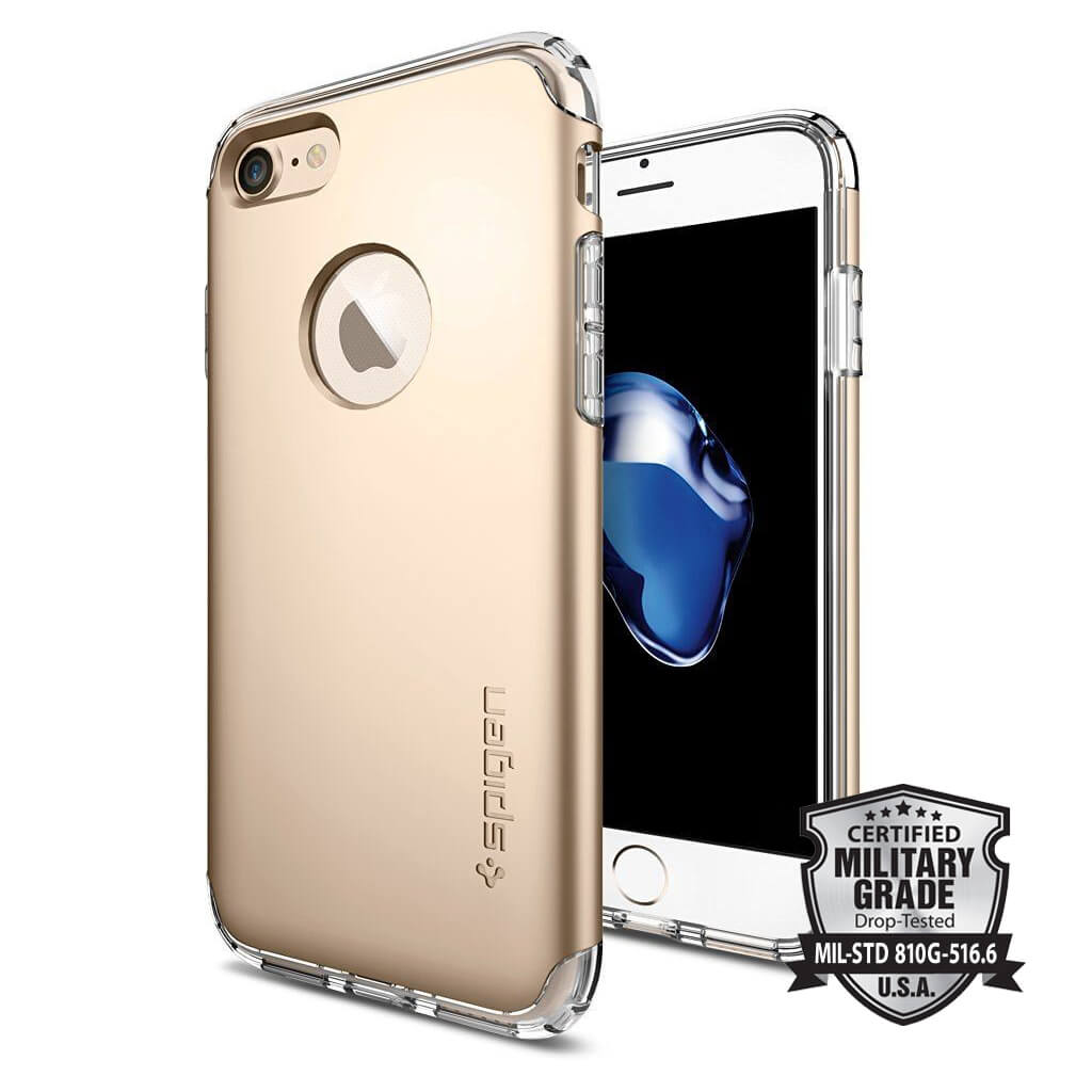 Spigen® Hybrid Armor™ SGP 042CS20695 iPhone 7 Case - Champagne Gold