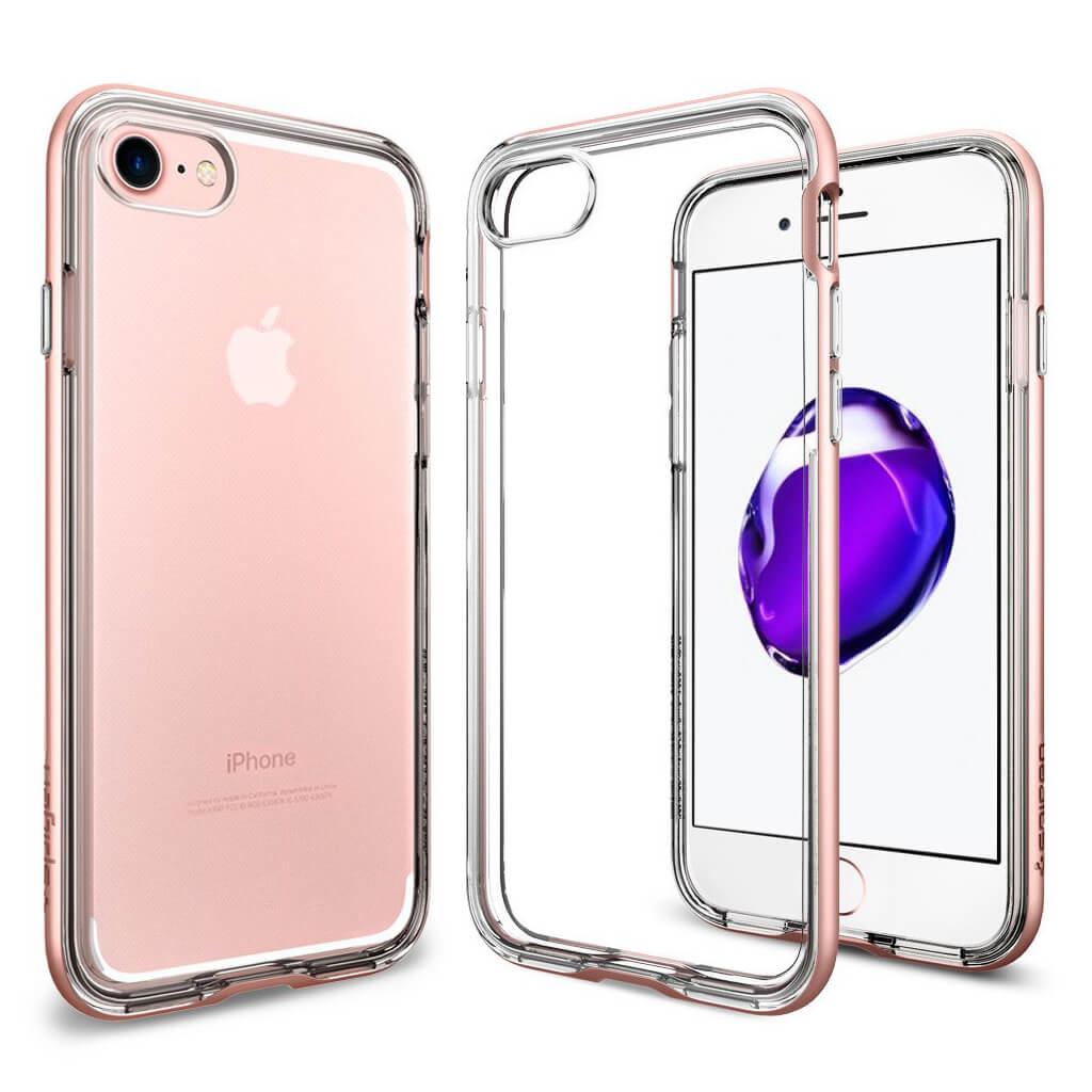 Spigen® Neo Hybrid Crystal™ SGP 042CS20524 iPhone 7 Case - Rose Gold
