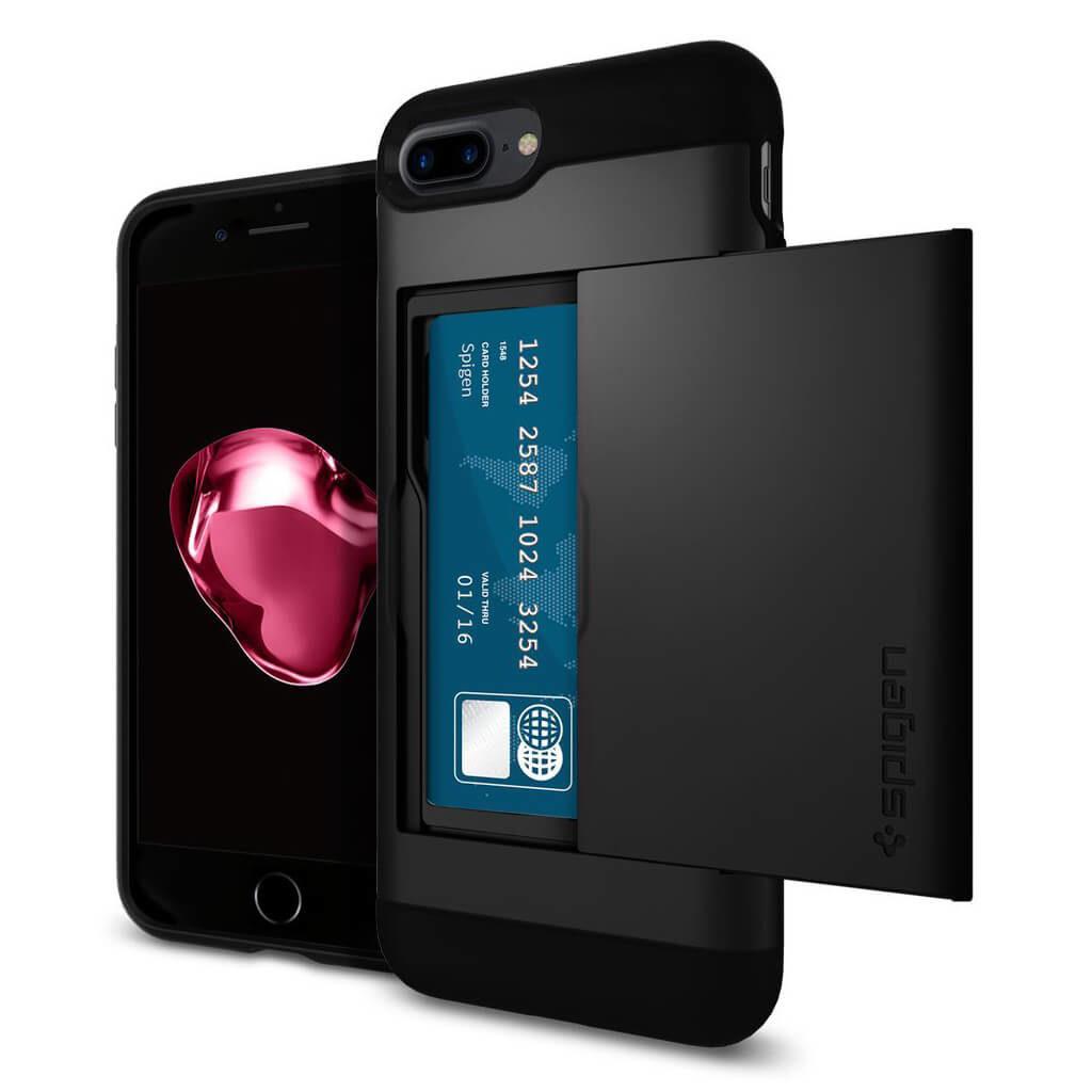 Spigen® Slim Armor CS™ 043CS20528 iPhone 7 Plus Case - Black