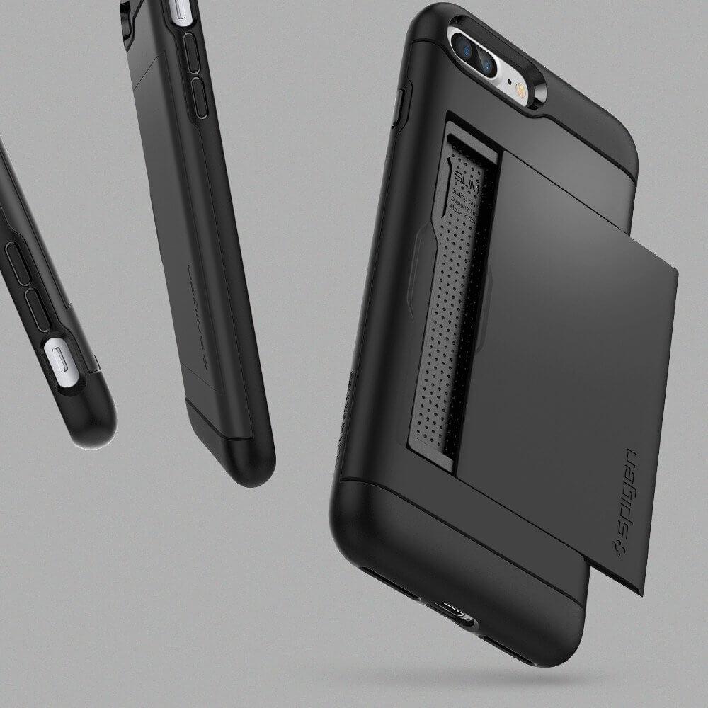 Spigen® Slim Armor™ CS SGP 043CS20528 iPhone 7 Plus Case - Black