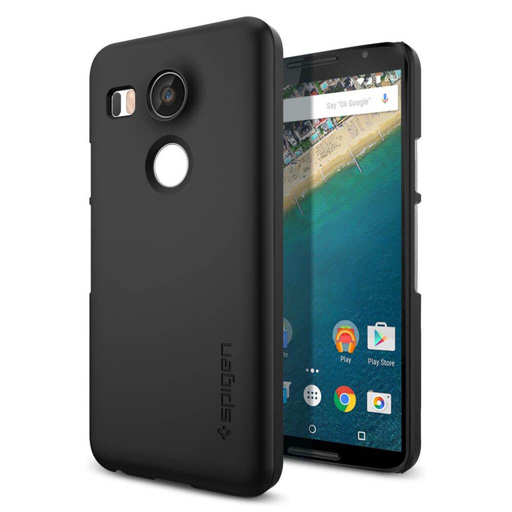 Spigen® Thin Fit™ SGP11756 Nexus 5X Case - Black