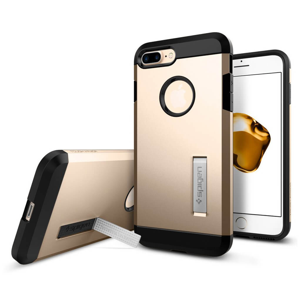 Spigen® Tough Armor™ 043CS20530 iPhone 7 Plus Case - Champagne Gold