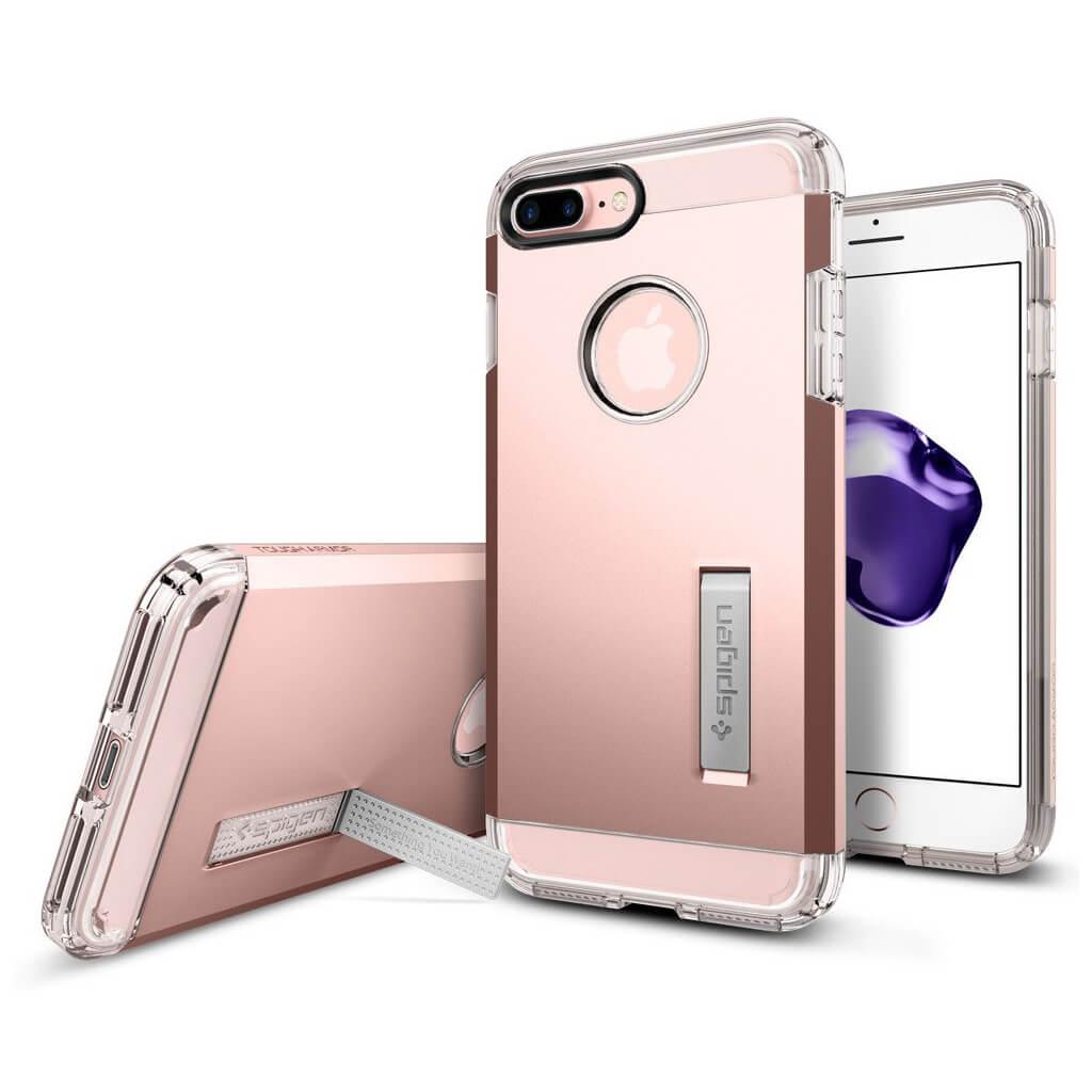 Spigen® Tough Armor™ 043CS20532 iPhone 7 Plus Case - Rose Gold