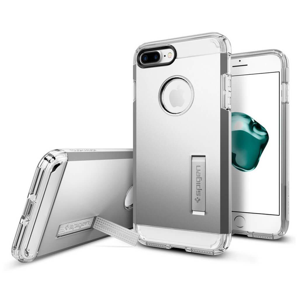 Spigen® Tough Armor™ 043CS20681 iPhone 7 Plus Case - Satin Silver
