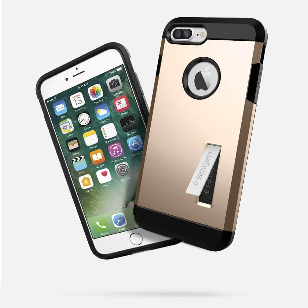 Spigen® Tough Armor™ SGP 043CS20530 iPhone 7 Plus Case - Champagne Gold