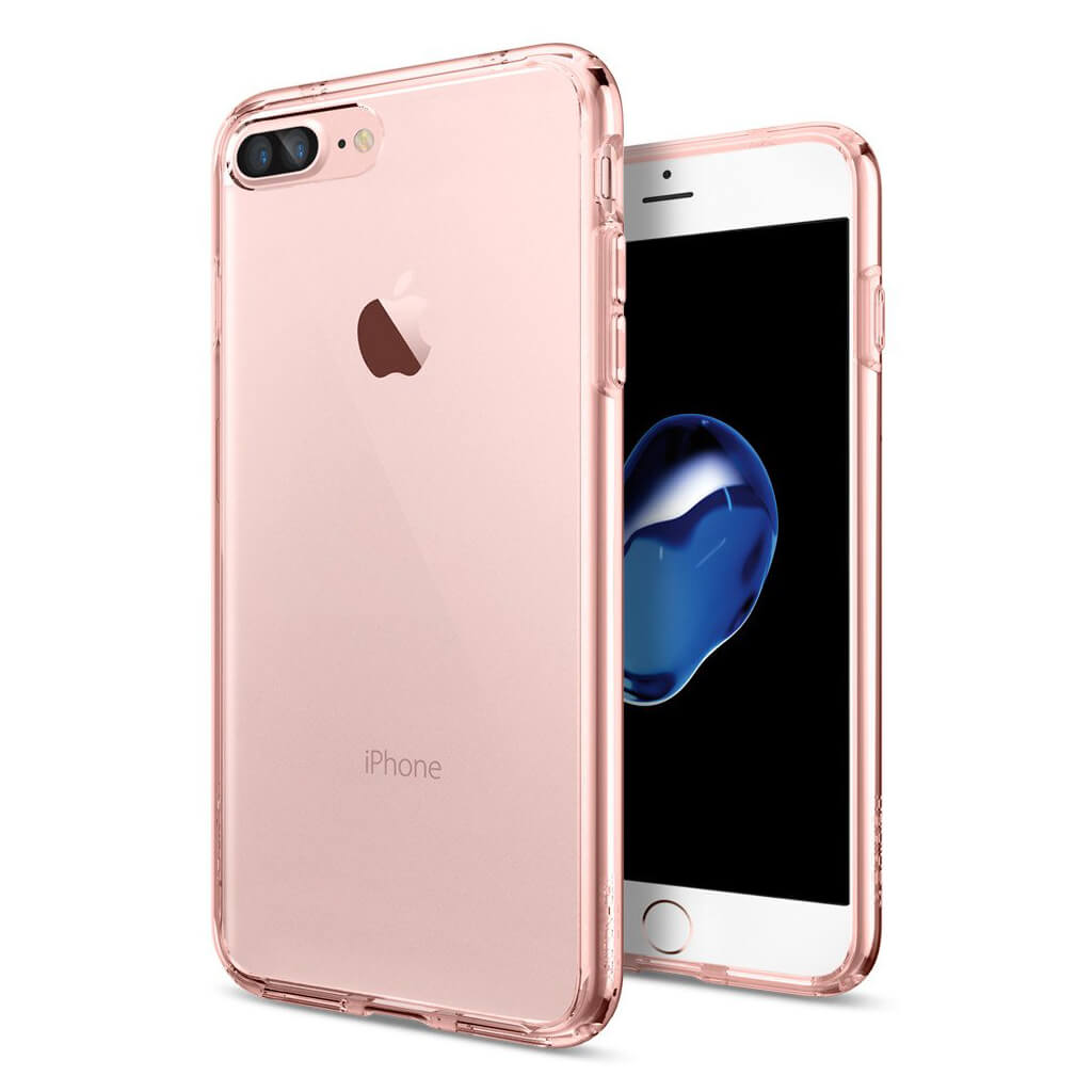 Spigen® Ultra Hybrid™ 043CS20549 iPhone 7 Plus Case - Rose Crystal