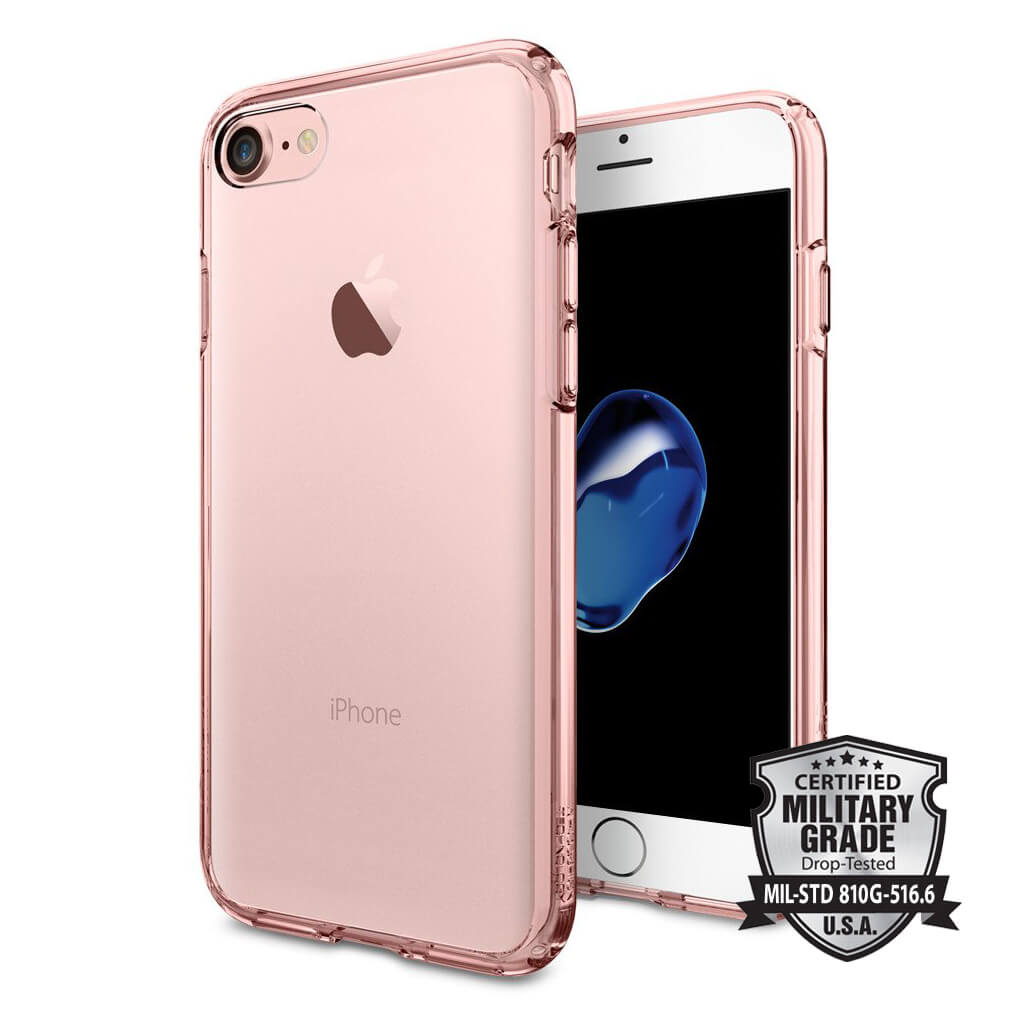 Spigen® Ultra Hybrid™ SGP 042CS20445 iPhone 7 Case - Rose Crystal