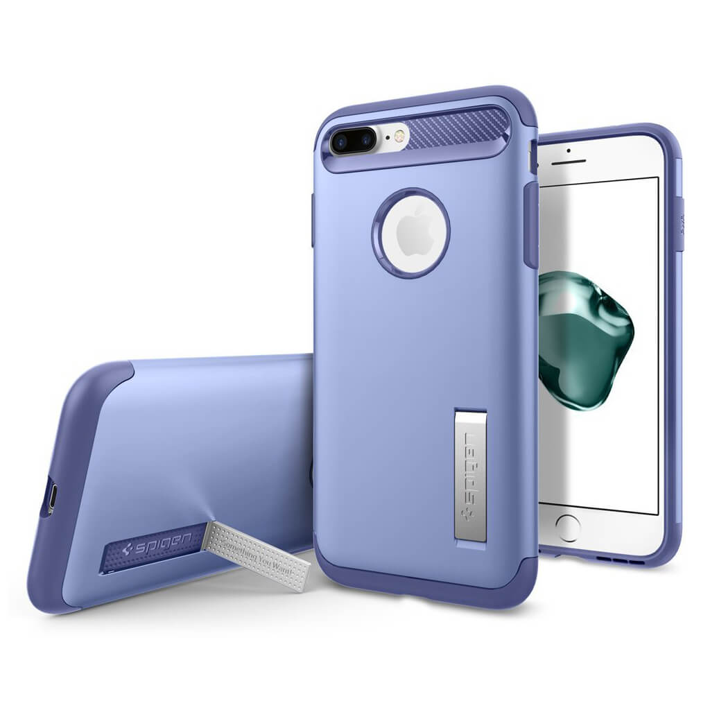 Spigen® Slim Armor™ 043CS20312 iPhone 7 Plus Case - Violet