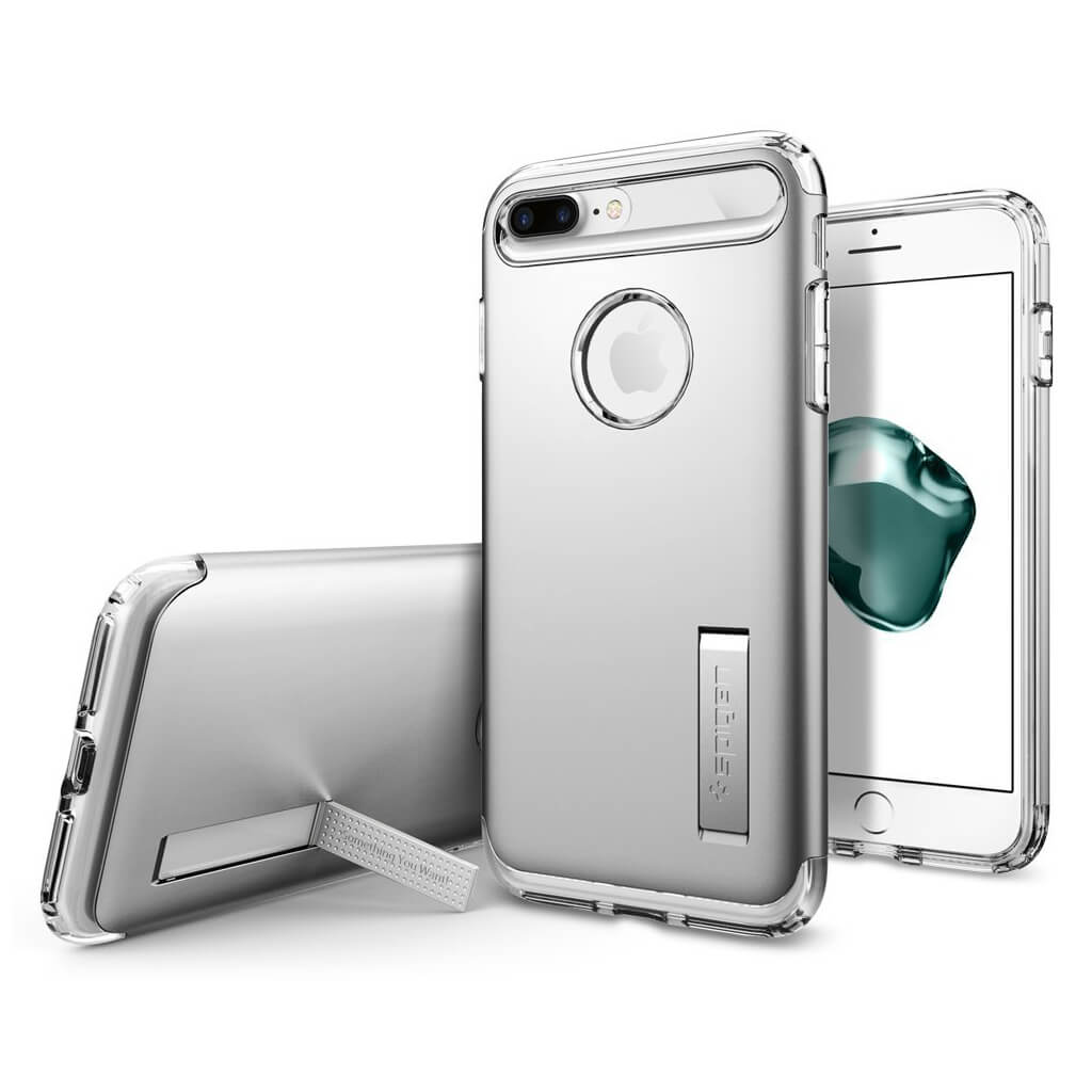 Spigen® Slim Armor™ 043CS20313 iPhone 7 Plus Case - Satin Silver