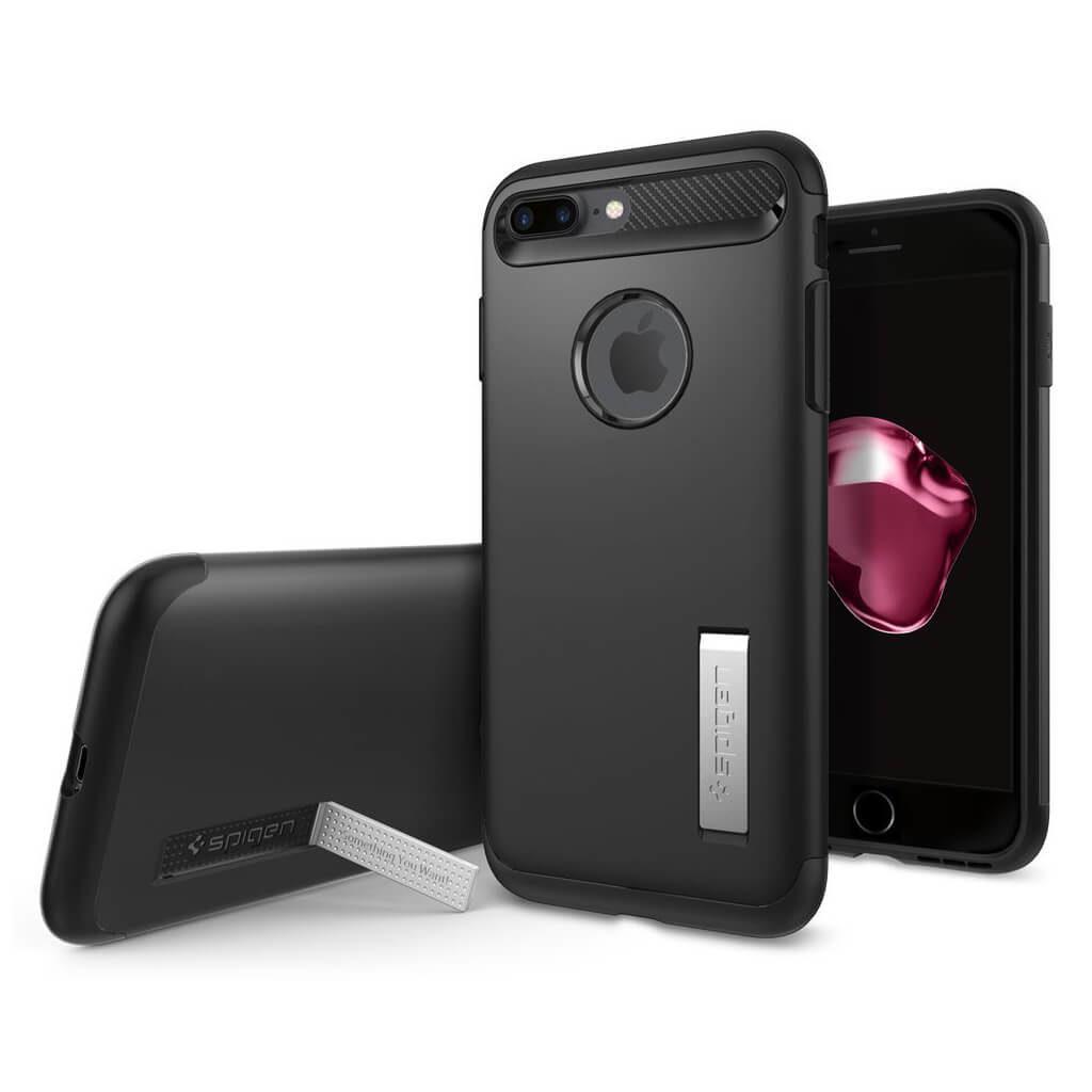 Spigen® Slim Armor™ 043CS20648 iPhone 7 Plus Case - Black
