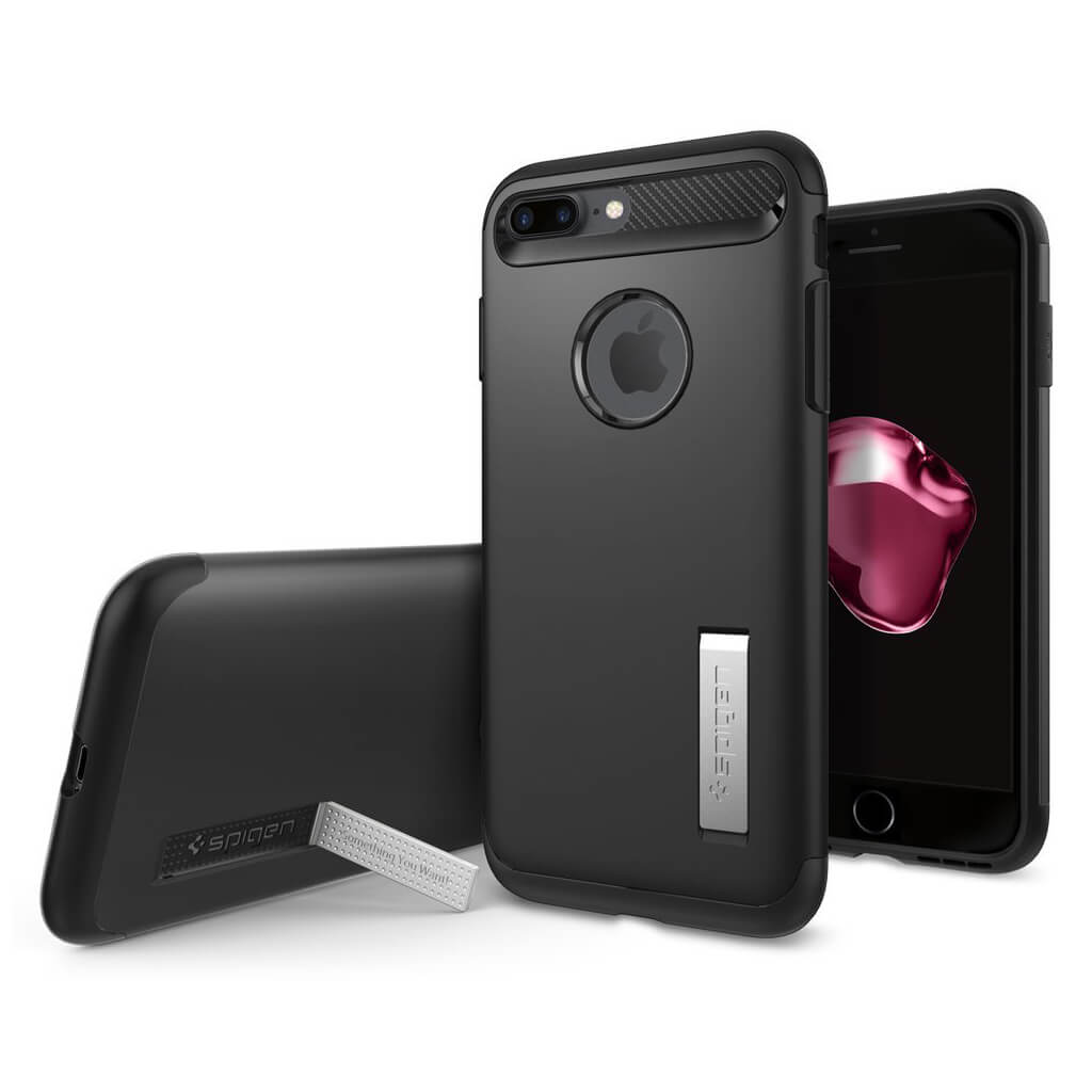 Spigen® Slim Armor™ 043CS20648 iPhone 7 Plus Case - Black
