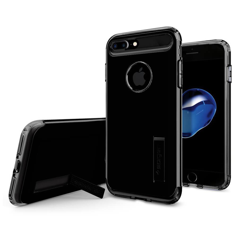 Spigen® Slim Armor™ 043CS20851 iPhone 7 Plus Case - Jet Black