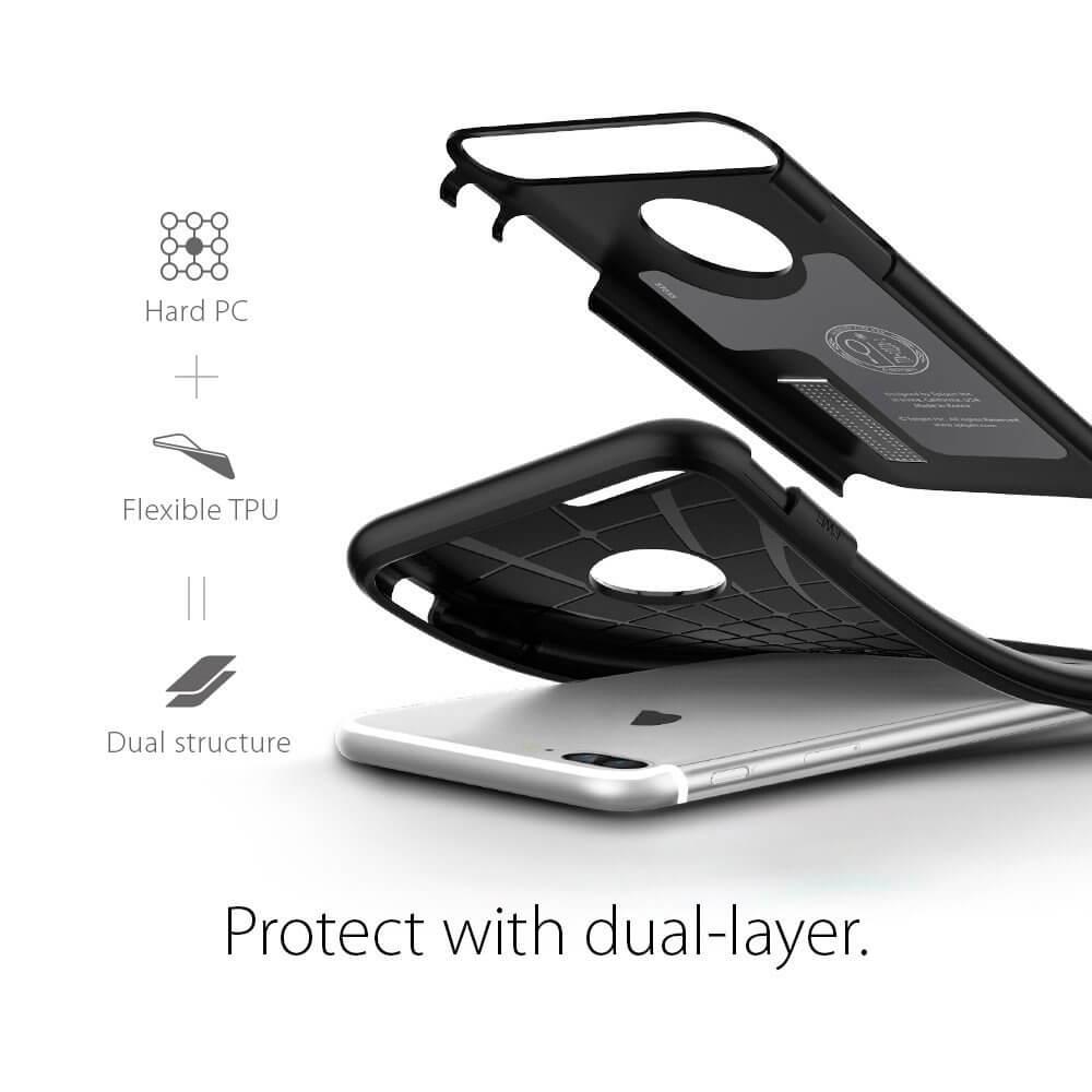 Spigen® Slim Armor™ SGP 043CS20648 iPhone 7 Plus Case - Black