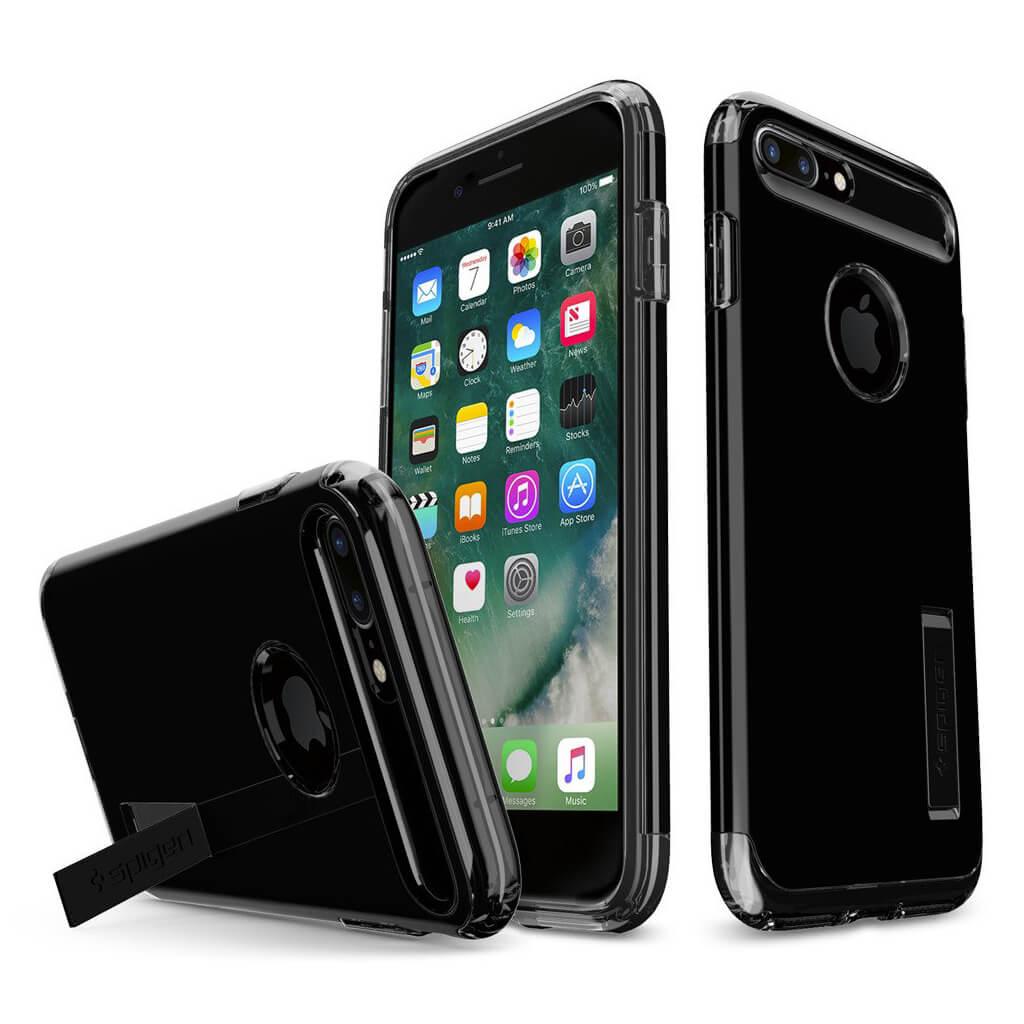 Spigen® Slim Armor™ SGP 043CS20851 iPhone 7 Plus Case - Jet Black