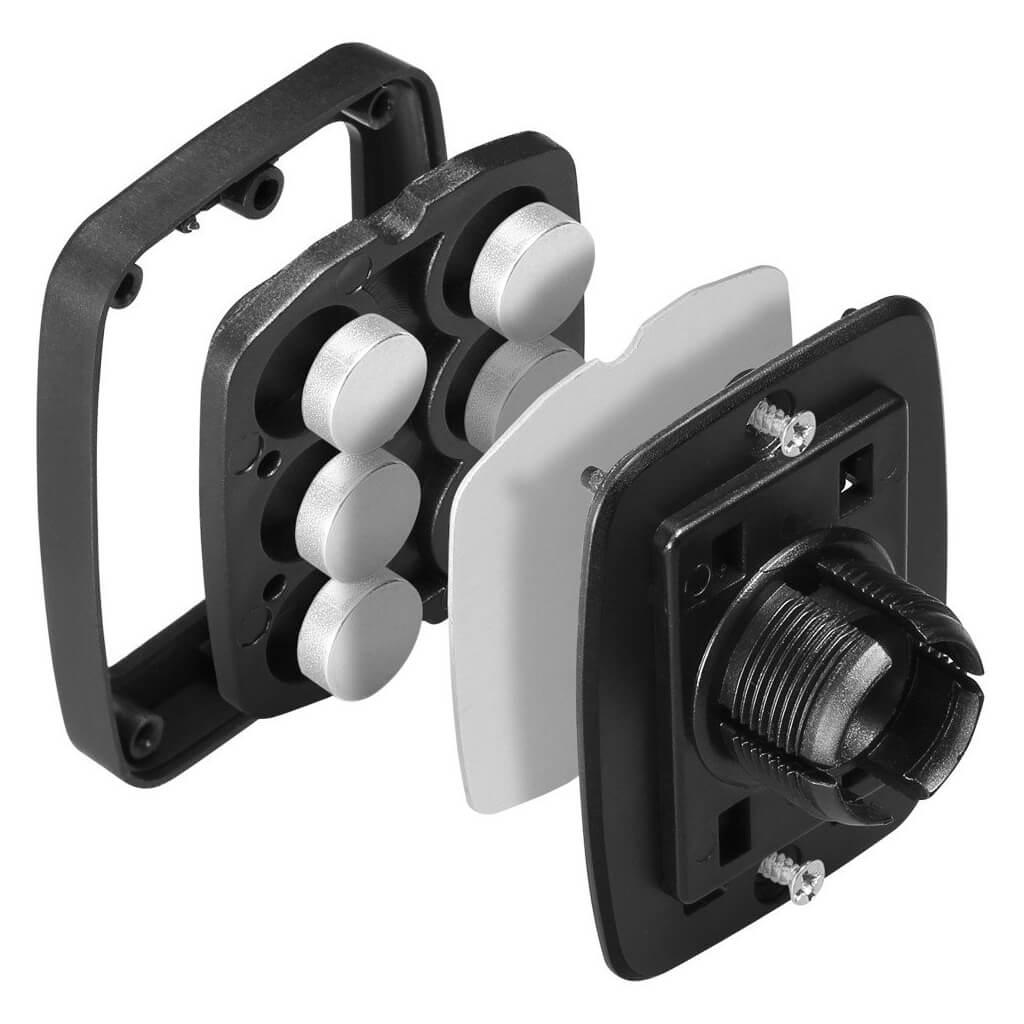 Spigen® A201 Hexa Neodymium Core™ SGP 000CD20115 Premium Magnetic Air Vent Mount