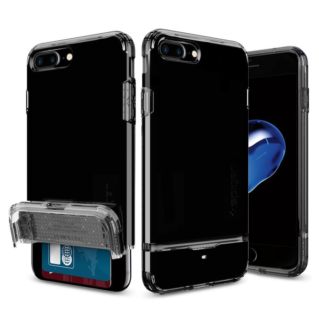 Spigen® Flip Armor™ 043CS20853 iPhone 7 Plus Case – Jet Black
