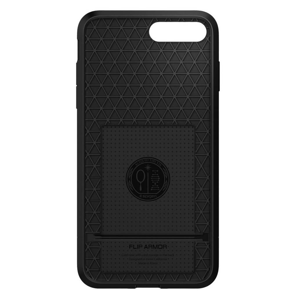 Spigen® Flip Armor™ SGP 043CS20776 iPhone 7 Plus Case - Gunmetal