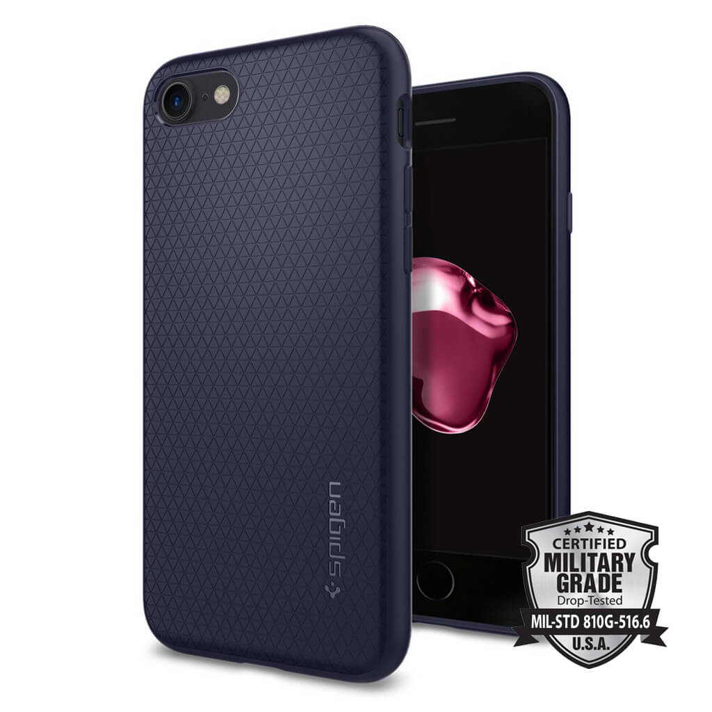 Spigen® Liquid Armor™ SGP 042CS21189 iPhone 7 Case - Midnight Blue