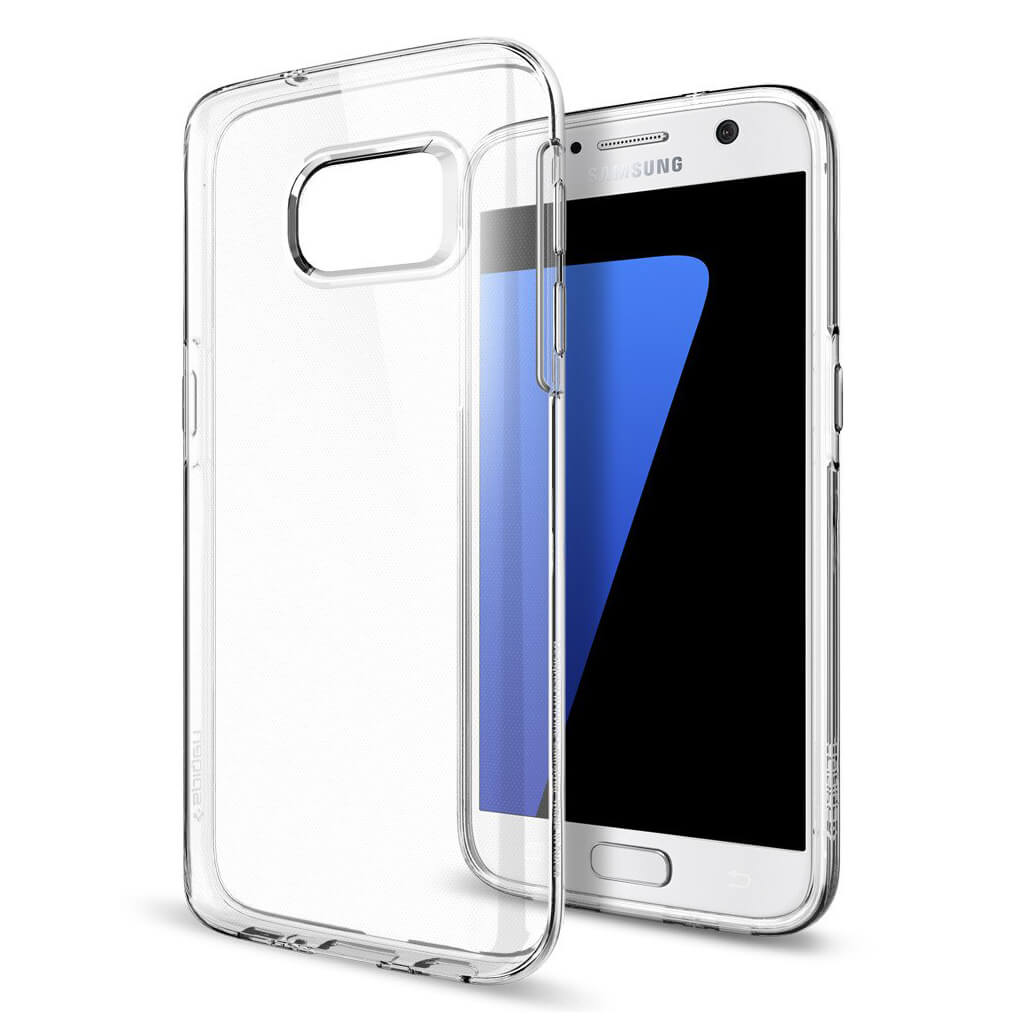 Spigen® Liquid Crystal™ SGP 555CS20006 Samsung Galaxy S7 Case - Crystal Clear