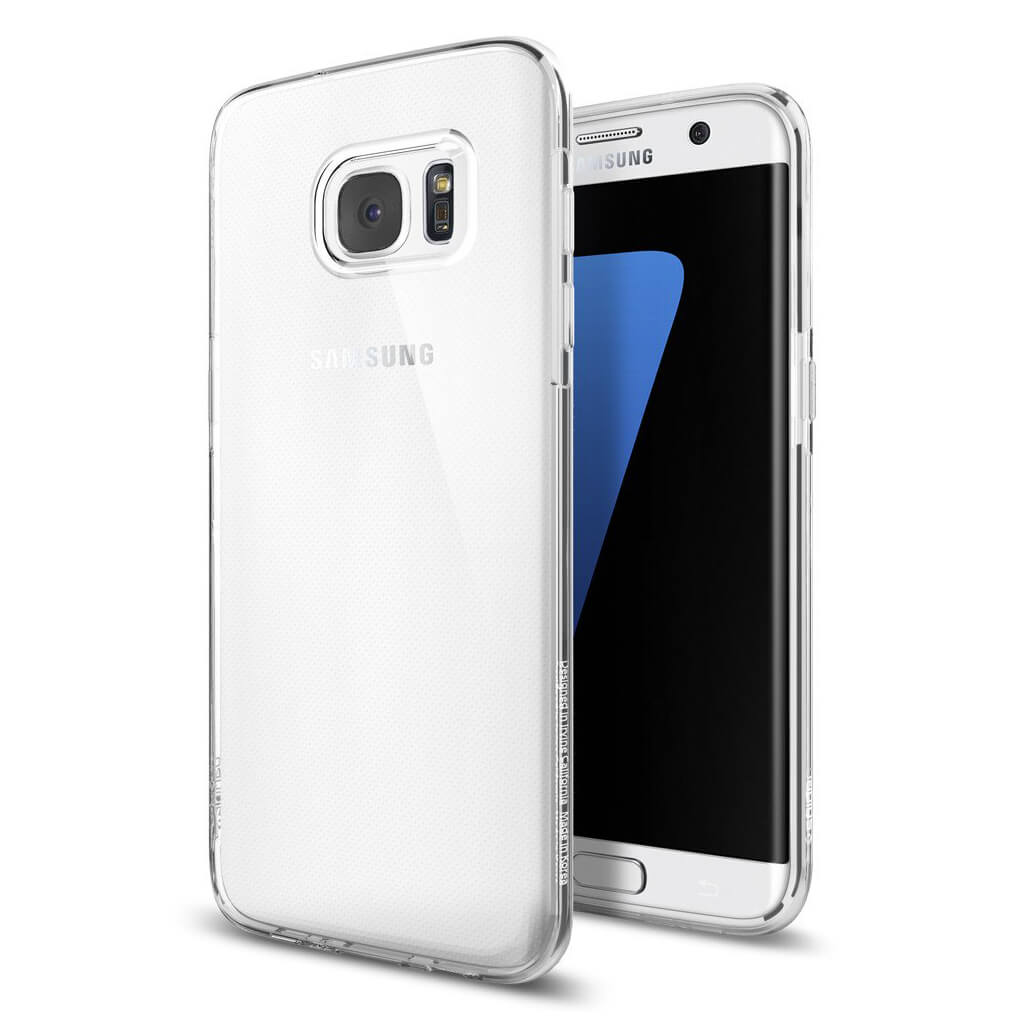 Spigen® Liquid Crystal™ SGP 556CS20032 Samsung Galaxy S7 Edge Case - Crystal Clear