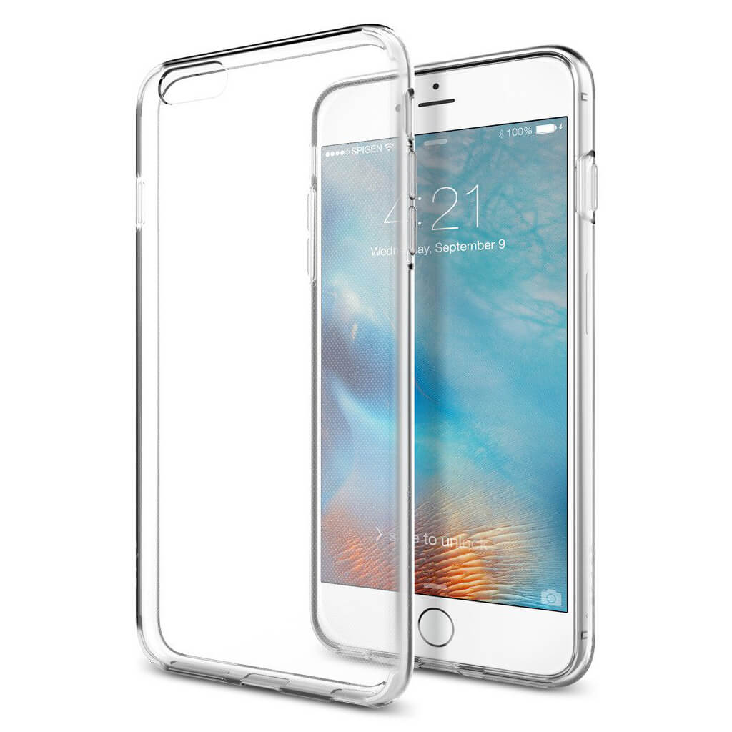 Spigen® Liquid Crystal™ SGP11642 iPhone 6s Plus/6 Plus Case - Crystal Clear