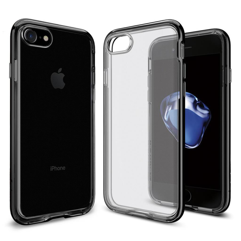 Spigen® Neo Hybrid Crystal™ SGP 042CS20838 iPhone 7 Case - Jet Black