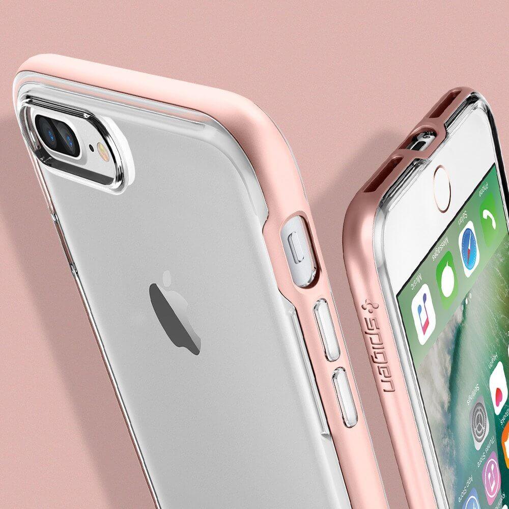 Spigen® Neo Hybrid Crystal™ SGP 043CS20542 iPhone 7 Plus Case - Rose Gold