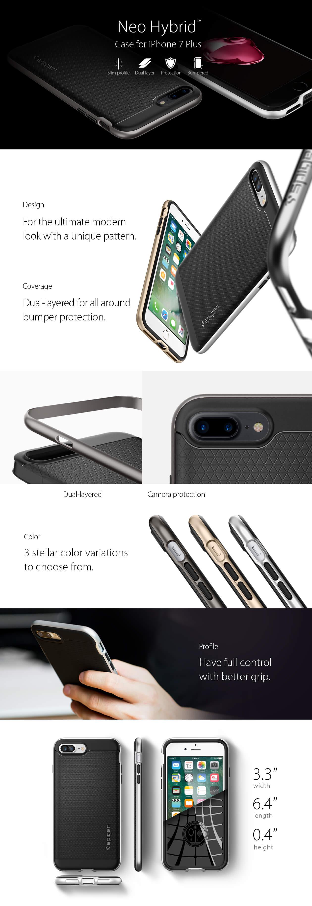 Spigen® Neo Hybrid™ iPhone 7 Plus Case