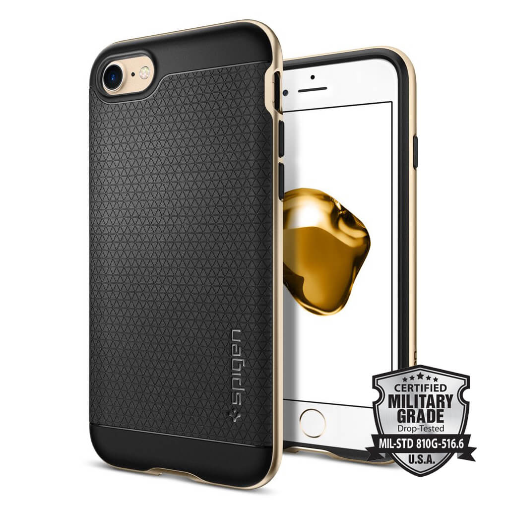 Spigen® Neo Hybrid™ SGP 042CS20675 iPhone 7 Case - Champagne Gold
