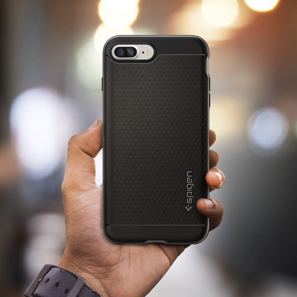 Spigen® Neo Hybrid™ SGP 043CS20535 iPhone 7 Plus Case - Gunmetal