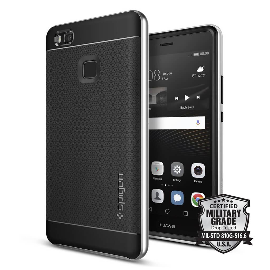 Spigen® Neo Hybrid™ SGP L05CS20631 Huawei P9 Lite Case - Satin Silver