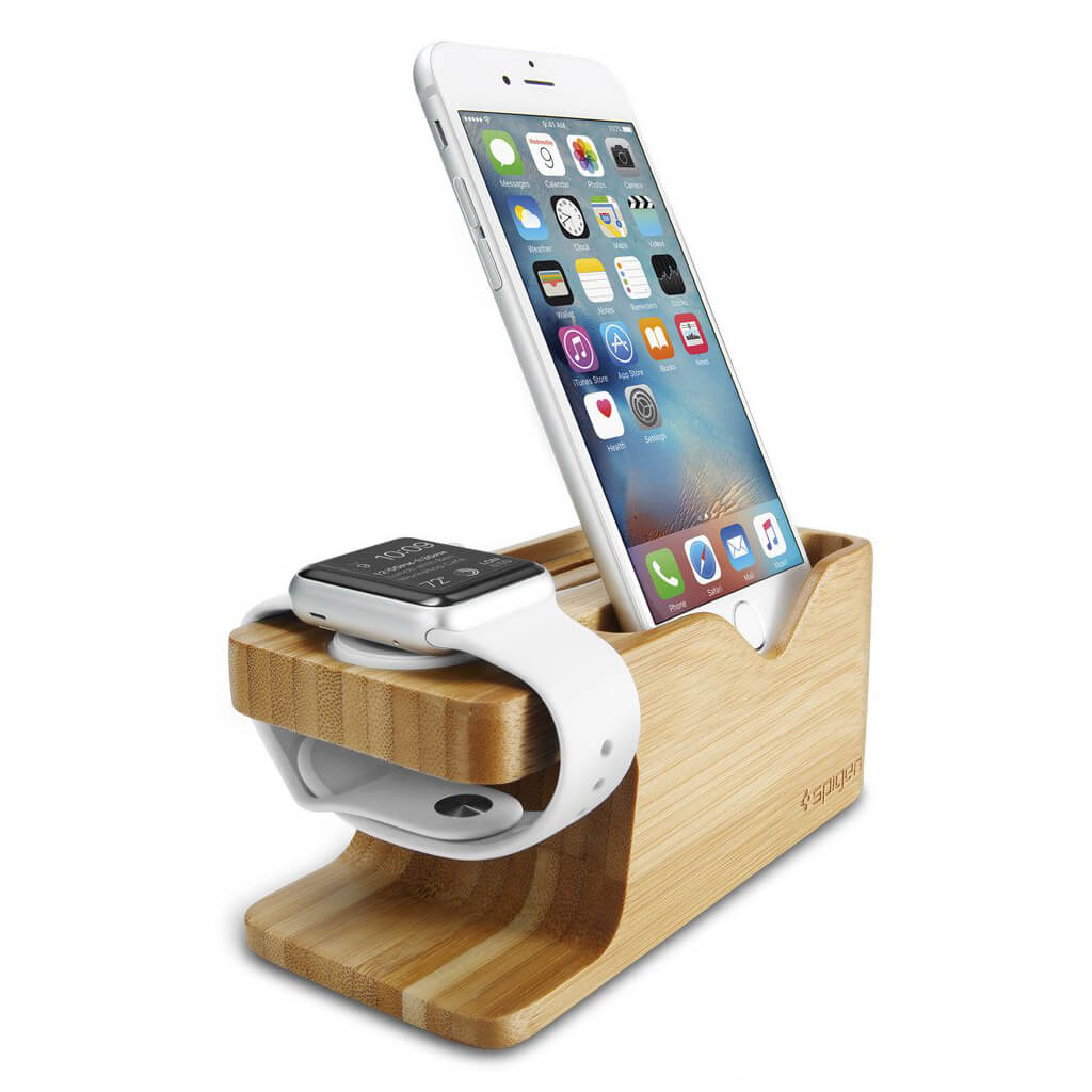 Spigen® S370™ SGP 000ST20295 Apple Watch & iPhone Stand