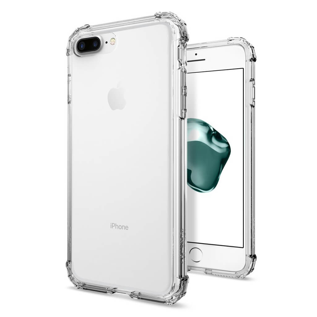 Spigen® Crystal Shell™ 043CS20314 iPhone 7 Plus Case – Crystal Clear