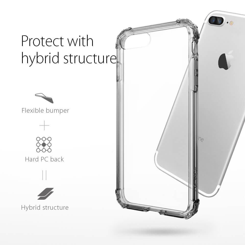 Spigen® Crystal Shell™ SGP 043CS20500 iPhone 7 Plus Case - Dark Crystal
