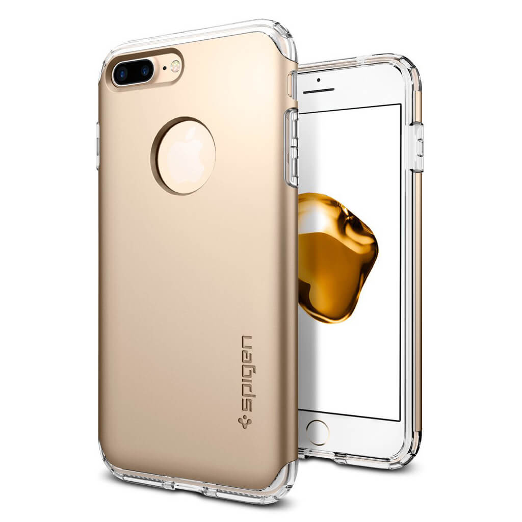 Spigen® Hybrid Armor™ 043CS20699 iPhone 7 Plus Case - Champagne Gold