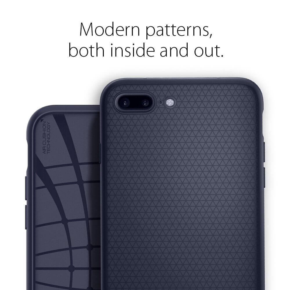 Spigen® Liquid Air Armor™ SGP 043CS21191 iPhone 7 Plus Case - Midnight Blue