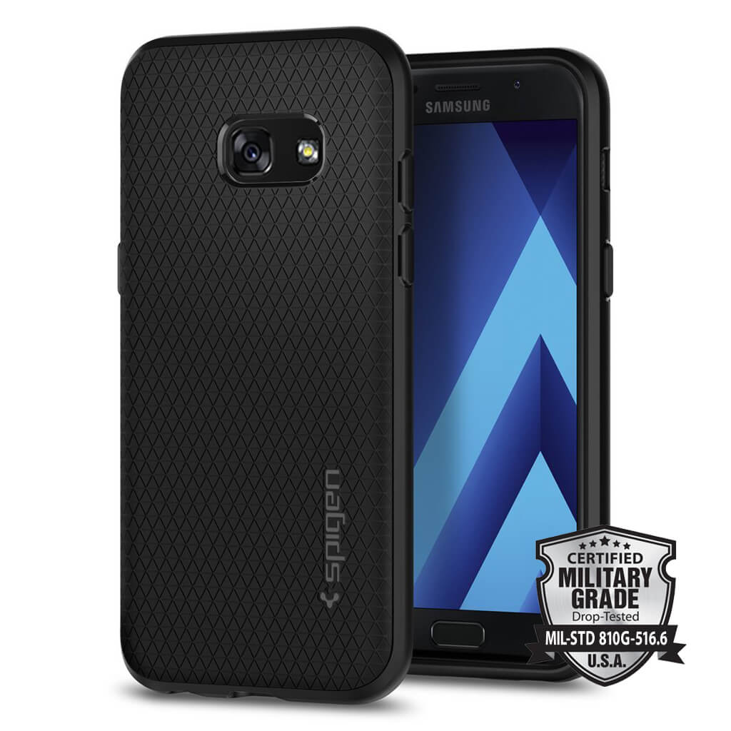 Spigen® Liquid Air Armor™ SGP 572CS21140 Samsung Galaxy A3 (2017) Case - Black