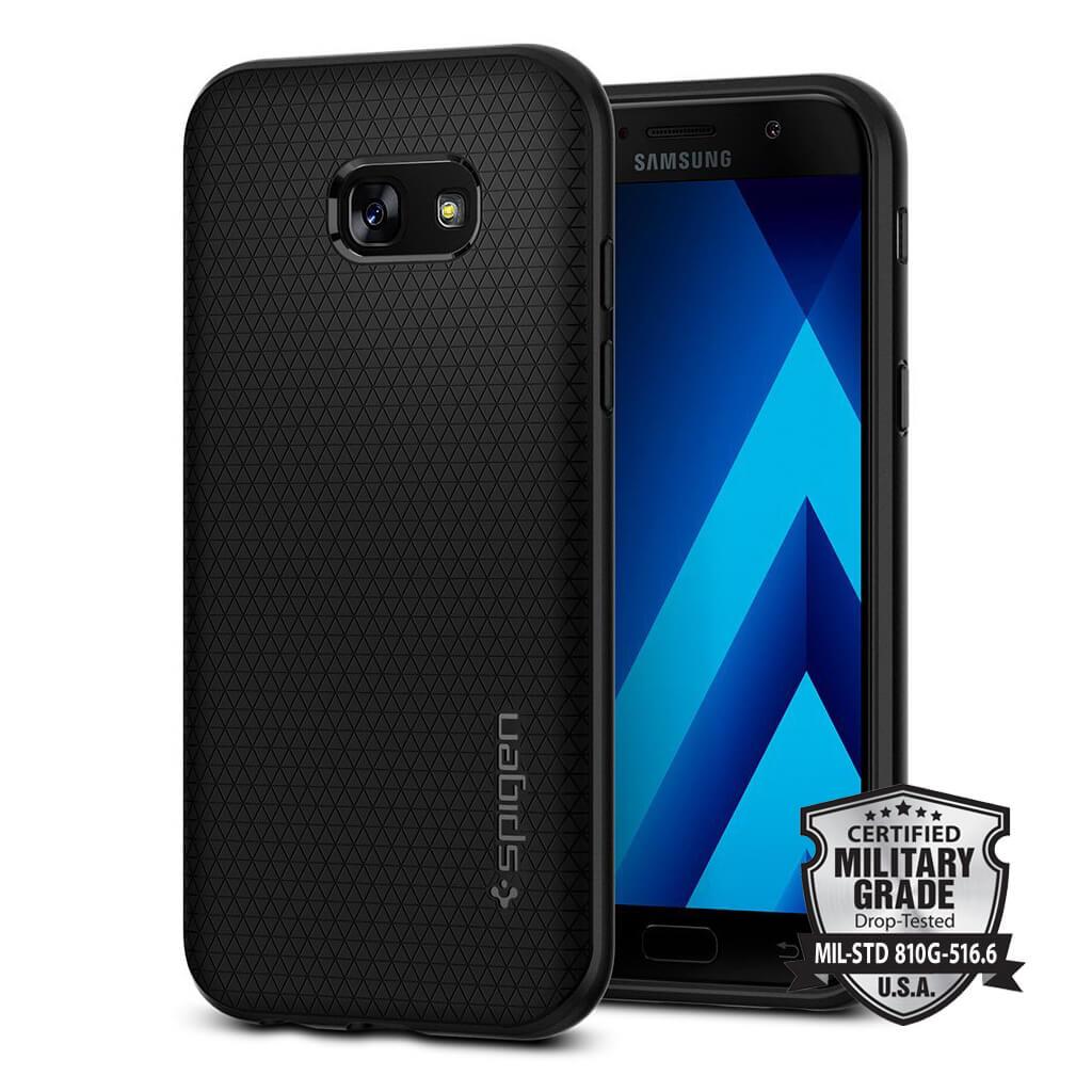 Spigen® Liquid Air Armor™ SGP 573CS21143 Samsung Galaxy A5 (2017) Case - Black