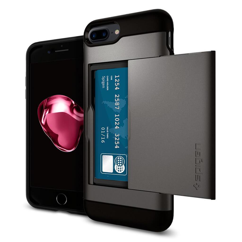 Spigen® Slim Armor CS™ 043CS20526 iPhone 7 Plus Case - Gunmetal