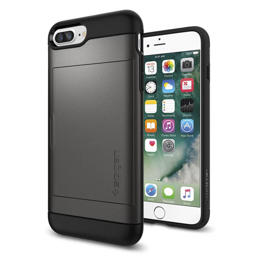 Spigen® Slim Armor™ CS SGP 043CS20526 iPhone 7 Plus Case - Gunmetal