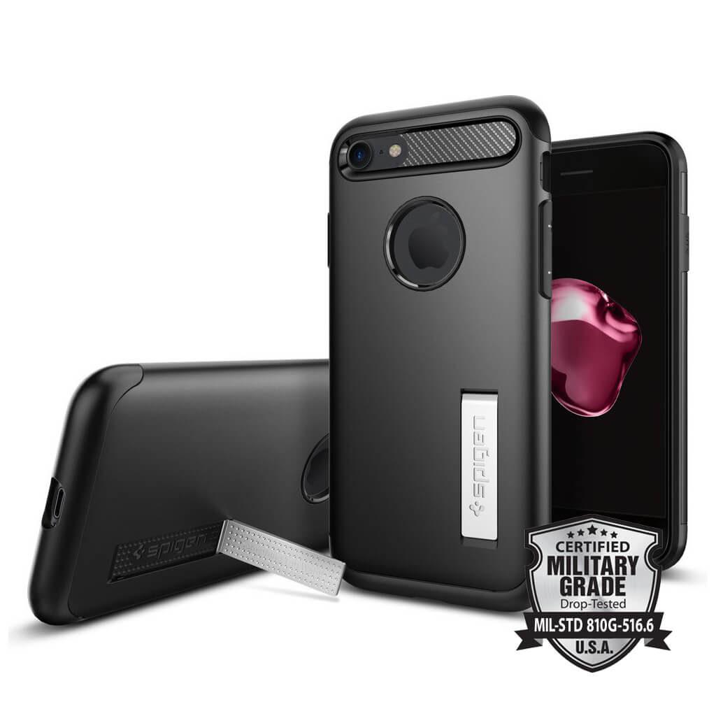 Spigen® Slim Armor™ SGP 042CS20647 iPhone 7 Case - Black