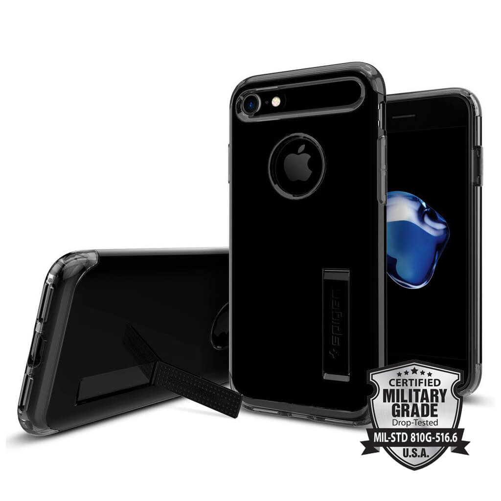 Spigen® Slim Armor™ SGP 042CS20842 iPhone 7 Case - Jet Black