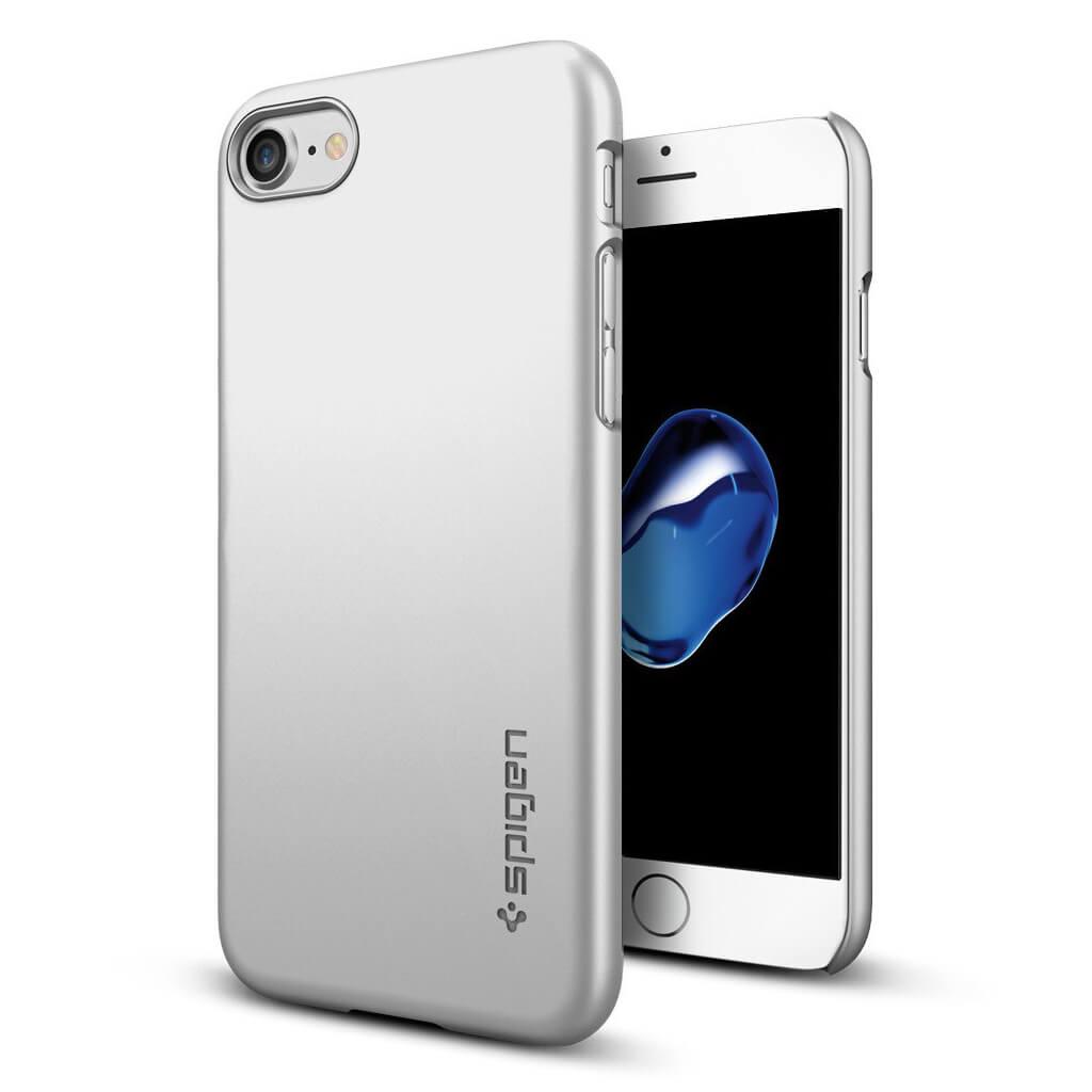 Spigen® Thin Fit™ SGP 042CS20733 iPhone 7 Case - Satin Silver