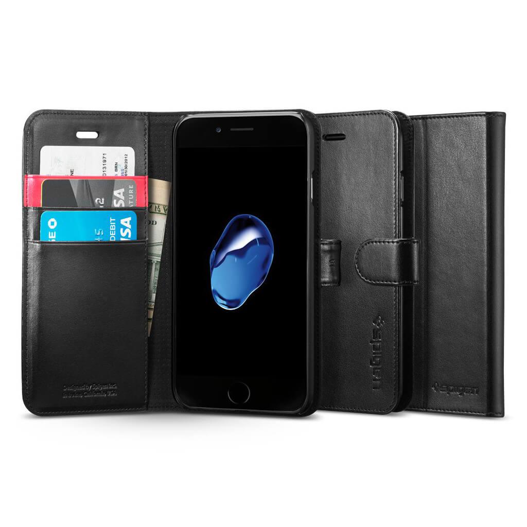 Spigen® Wallet S™ SGP 042CS20545 iPhone 7 Case - Black