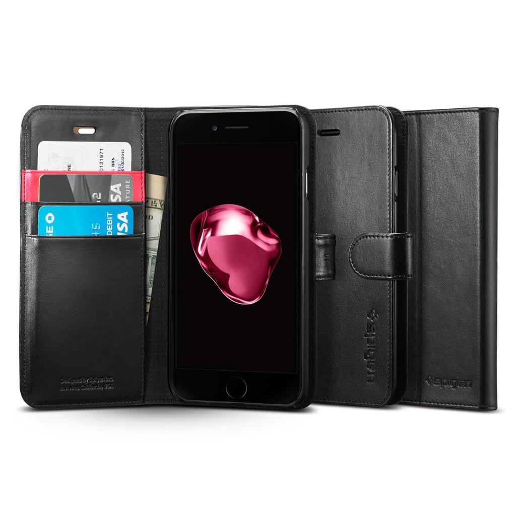 Spigen® Wallet S™ SGP 043CS20543 iPhone 7 Plus Case - Black