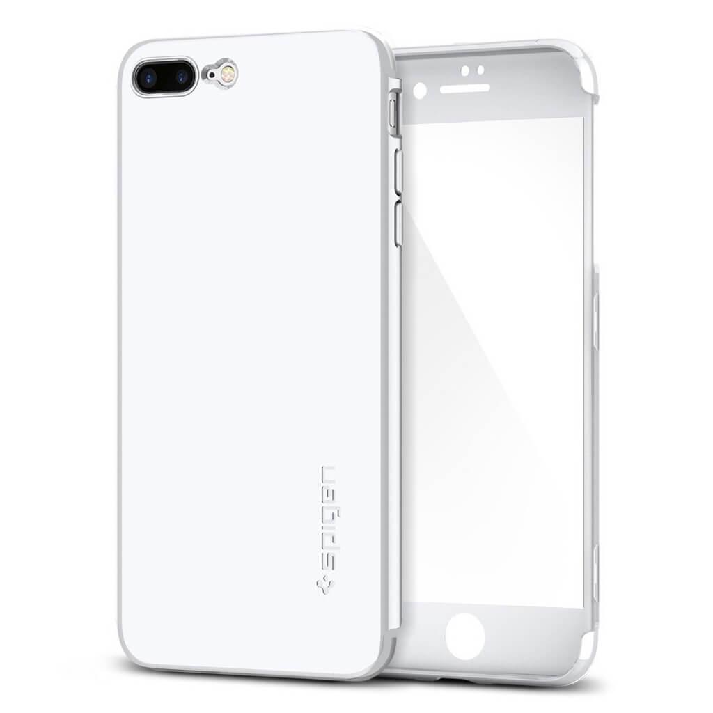 Spigen® Thin Fit 360™ SGP 043CS21100 iPhone 7 Plus Case - White