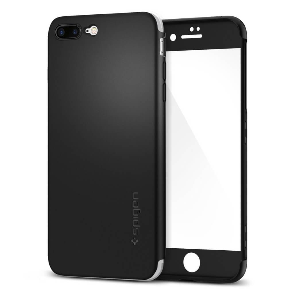 Spigen® Thin Fit 360™ SGP 043CS21101 iPhone 7 Plus Case - Black