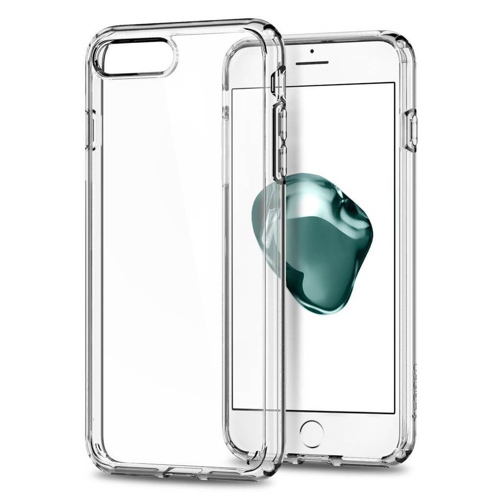 Spigen® Ultra Hybrid™ 2nd Generation 043CS21052 iPhone 7 Plus Case - Crystal Clear