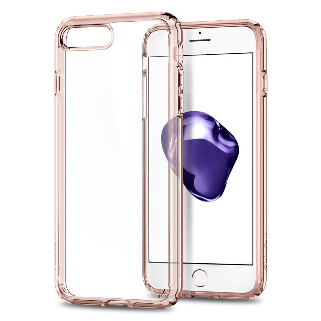 Spigen® Ultra Hybrid™ 2nd Generation 043CS21136 iPhone 7 Plus Case - Rose Crystal