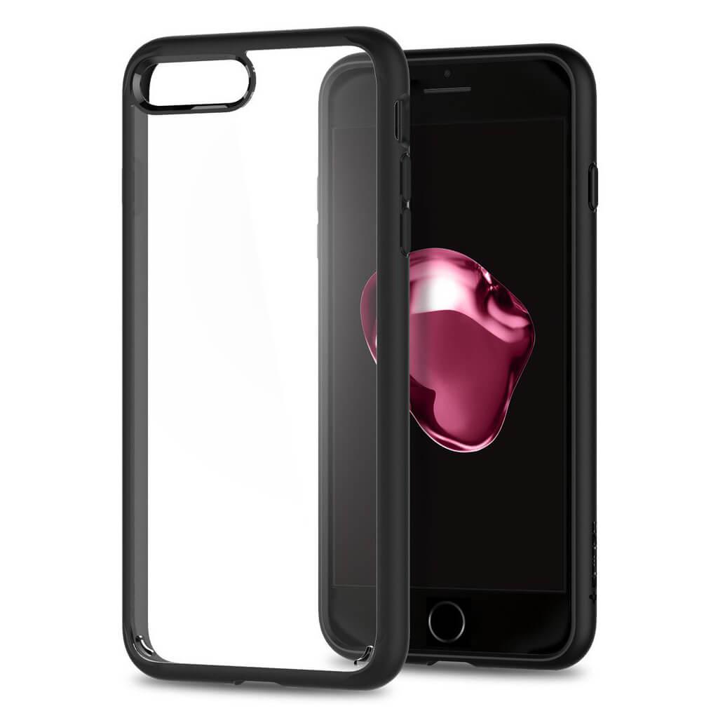Spigen® Ultra Hybrid™ 2nd Generation 043CS21137 iPhone 7 Plus Case - Black